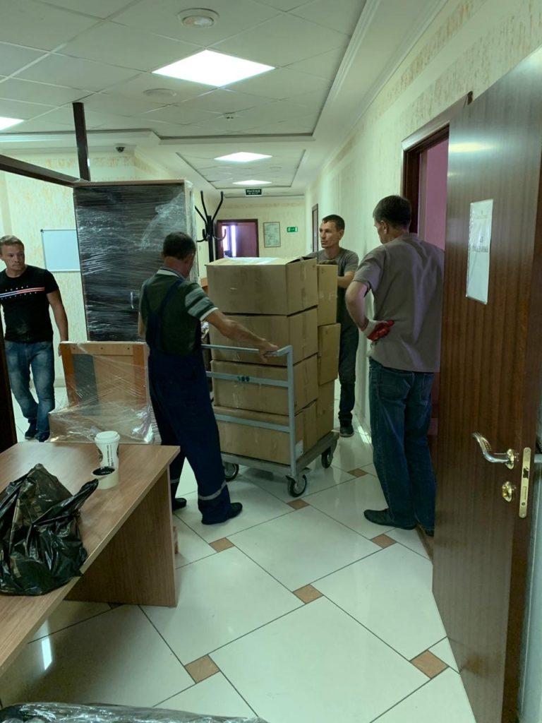 Офисный переезд Карасунский