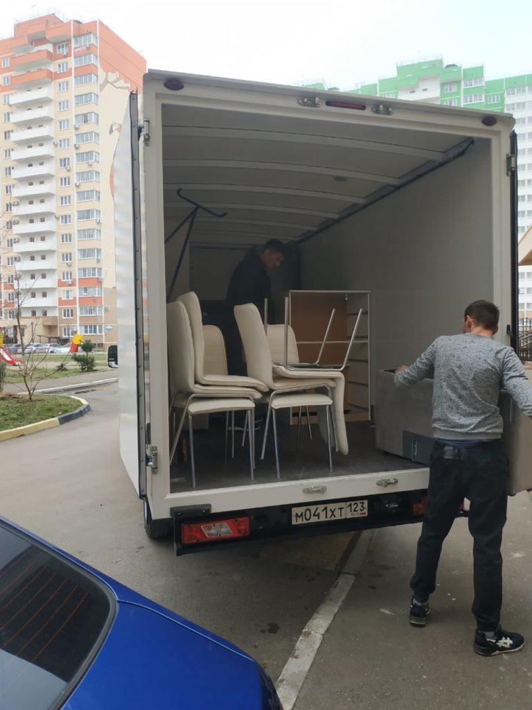 Переезд 1-комнатной квартиры с «Грузи Вези»