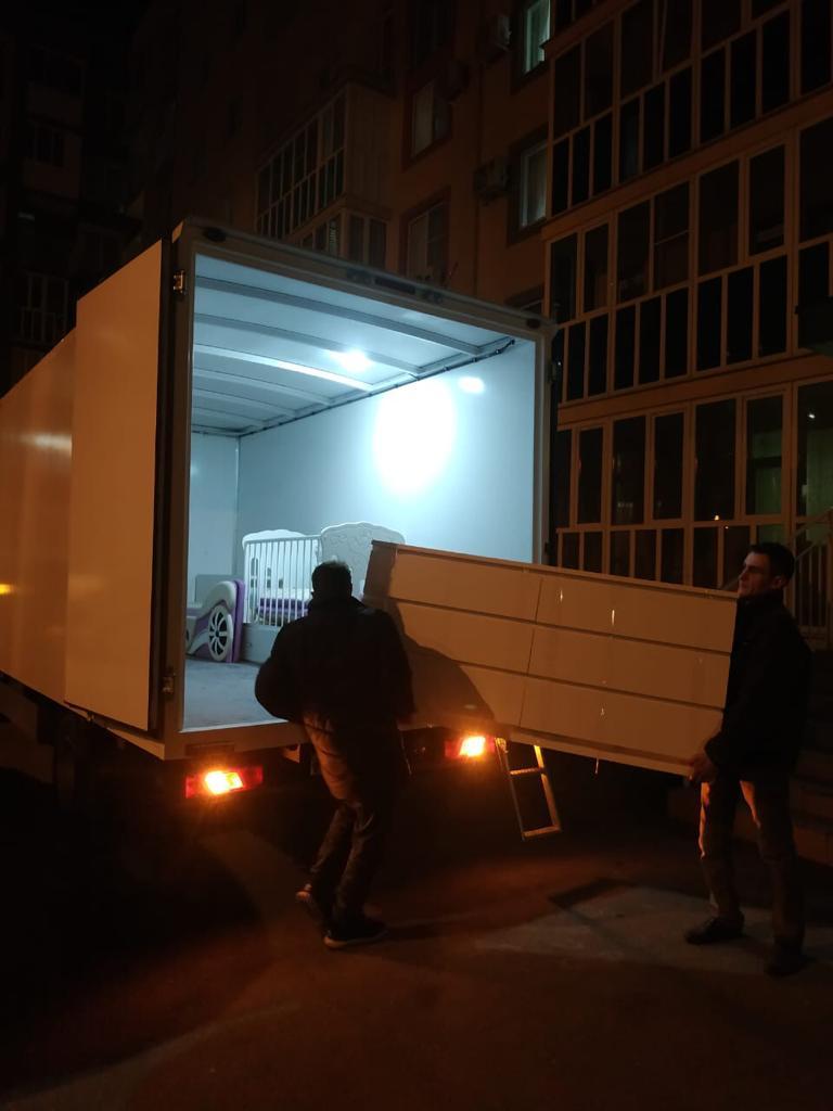 Квартирный переезд в ночное время