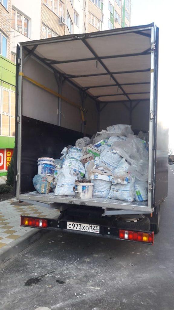 Вывоз строительного мусора за 1 час : простой пример работы